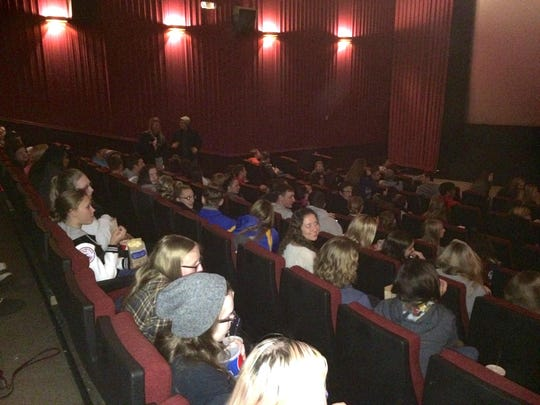 More than 150 Door County teens came to the Mockingjay Part 2 showing event supported by the new Teen Action Committee.