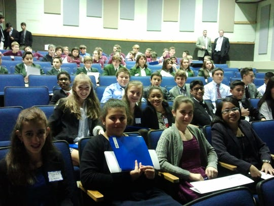 St. Matthias School students tackle complexities of the United Nations