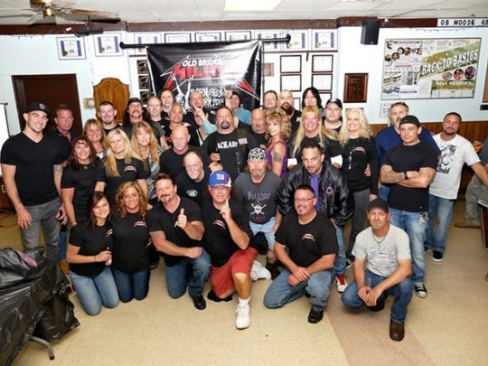 Today's Old Bridge Militia Foundation, which works closely with Metallica and other metal bands in providing music lessons and instruments to needy and autistic children. Original Militia members have been joined by several new volunteers.