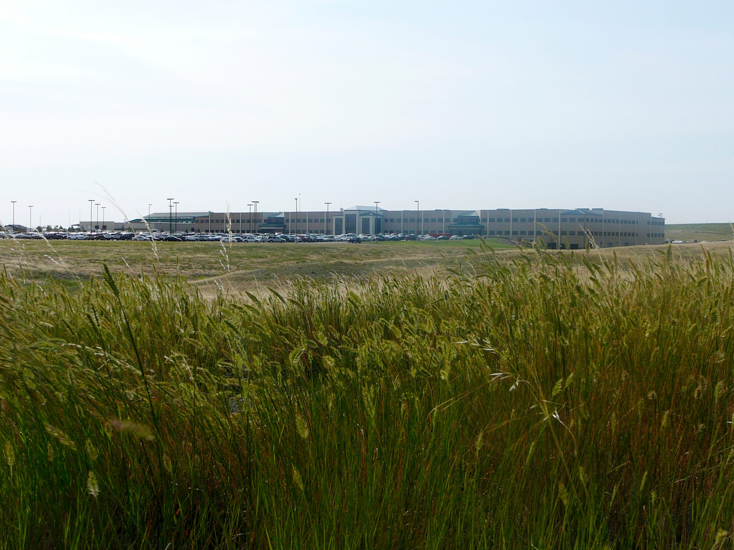 A 2007 photo of the corporate headquarters of Cabela's in Sidney, Nebraska.
