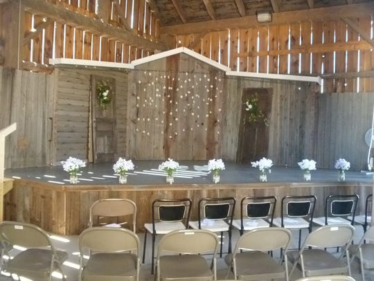 A wedding at Agricultural Heritage Farm.
