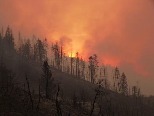 EPA USA CALIFORNIA WILDFIRES DIS FIRE USA CA