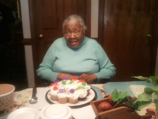 Cleo Moss is celebrating her 100th birthday
