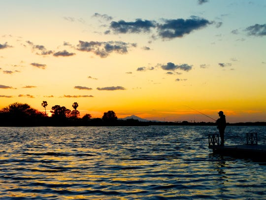 Arizona has scenic lakes of all sizes across the state,