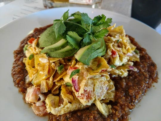 Pictured is a breakfast dish at Centrico called Migas,