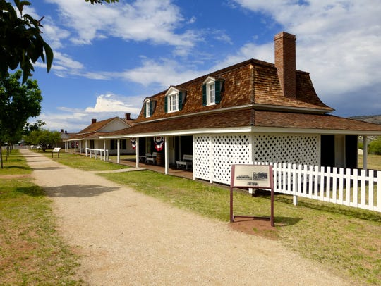 Fort Verde State Historic Park is the best-preserved
