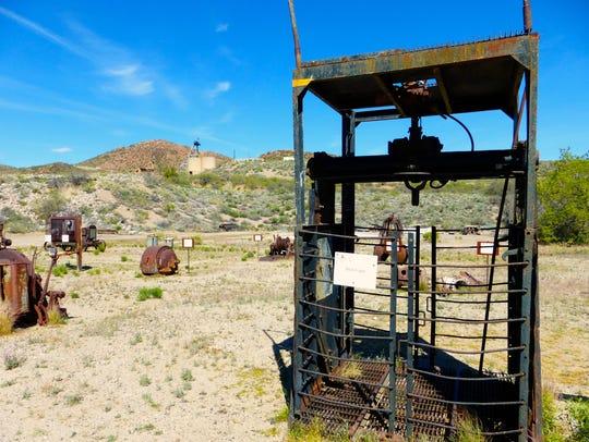 The Old Dominion Historic Mine Park in Globe provides