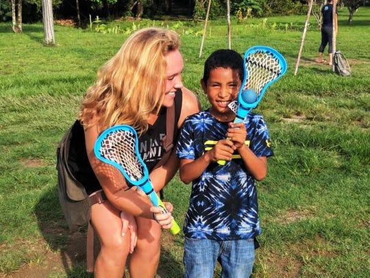 Katelyn Jarvis spread goodwill in Honduras teaching