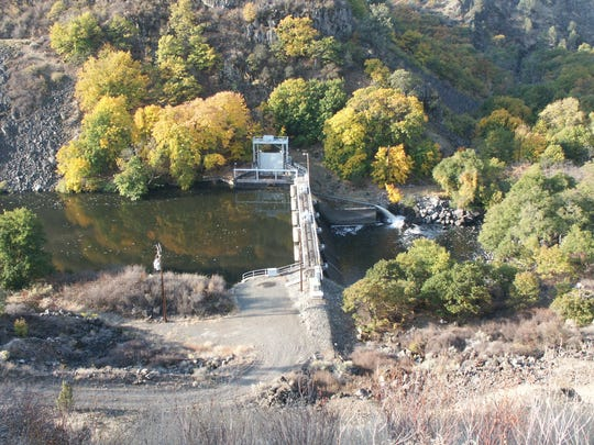 Copco Dam No. 2 is one of four dams on the Klamath River that the Klamath River Renewal Corp. wants to remove.