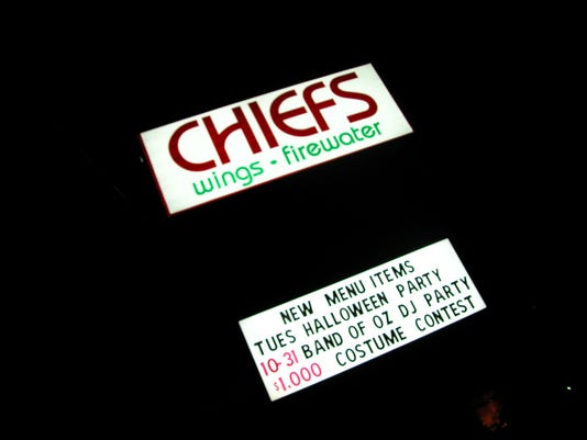 Chief's Wings and Firewater