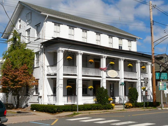The National Hotel is Frenchtown's architectural centerpiece,