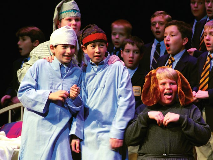 "Phoenix Boys Choir performs ""Festival of Carols,"" a"