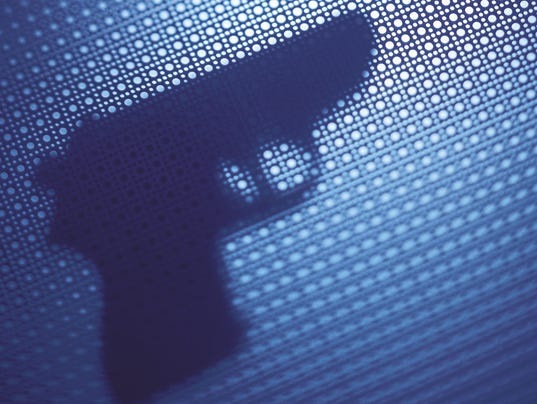 Gun shooting 86801246