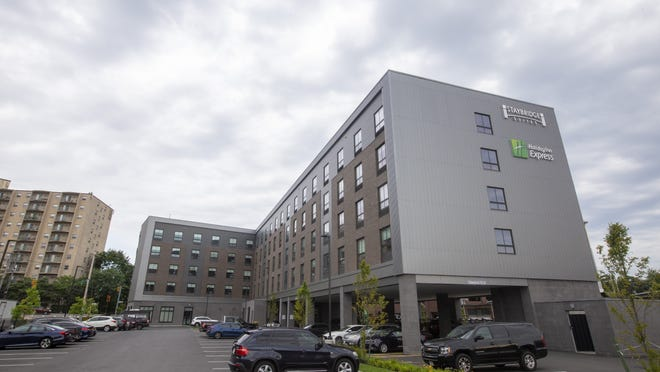 A shooting victim was found at a Quincy Holiday Inn on July 20, 2020.