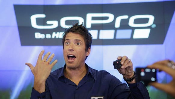 This June 26, 2014, file photo shows GoPro's CEO Nick