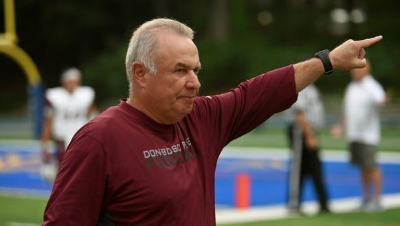 Don Bosco Prep football coach Greg Toal announced his
