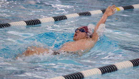 Ridgewood's Alex Gifford is a swimmer to watch in 2017-18.