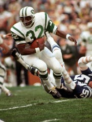 New York Jets running back Emerson Boozer in action during Super Bowl III against the Baltimore Colts at the Orange Bowl in 1969.