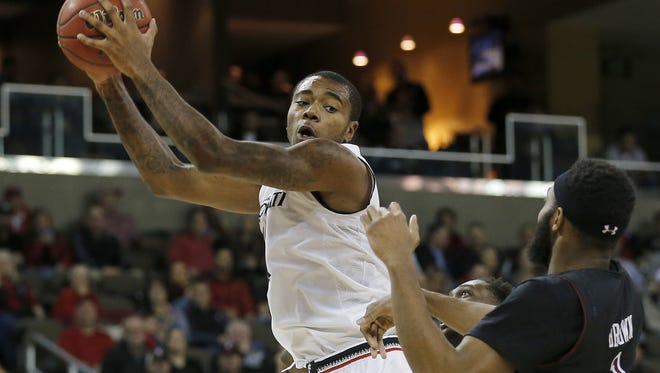 Gary Clark and the No. 11-ranked Cincinnati Bearcats will try to end a two-game losing streak Thursday, when UConn visits.