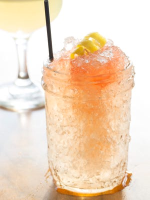 An icy cocktail.