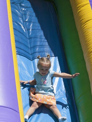 Children's activities will be a big part of the Utica Sertoma Ice Cream Festival this year. The annual event kicks off Saturday in Utica.
