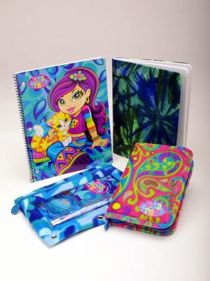 Tie-dyed gear from Lisa Frank  was a staple for 90s students. Next month, Lisa Frank is releasing coloring books.