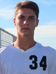 Connor Fritsche, James Buchanan boys soccer