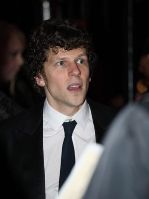 Actor Jesse Eisenberg at The Barnstable-Brown Gala in 2017.