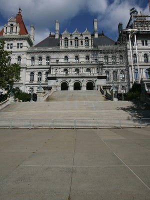 Joe Larese / The Journal News A view of the Capitol Building in Albany. A view of the Capitol Building in Albany photographed July 29, 2010.( Joe Larese / The Journal News )