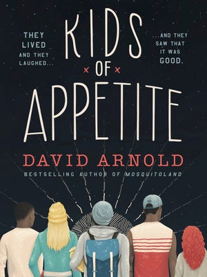 """Cover of David Arnold's """"Kids of Appetite."""""""