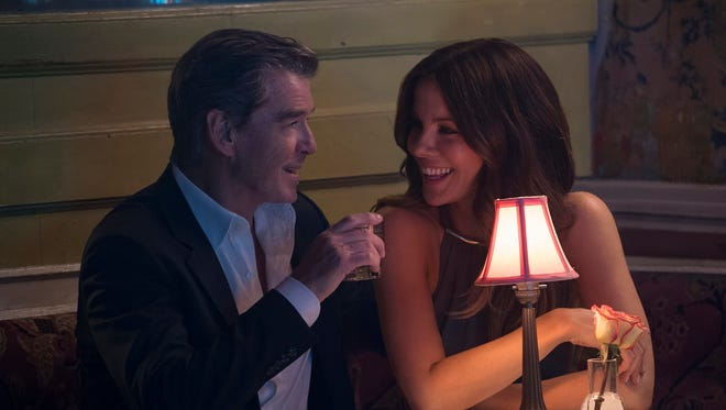 "Pierce Brosnan and Kate Beckinsale play lovers in ""The Only Living Boy in New York."""