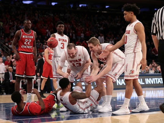 NCAA Basketball: NIT-Utah vs Western Kentucky