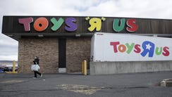 Toys R Us, squeezed by Amazon.com and huge chains like