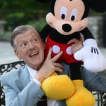 "Larry Bounds will play Walt Disney during the Greenville Chautauqua Festival's ""America at the Movies."""