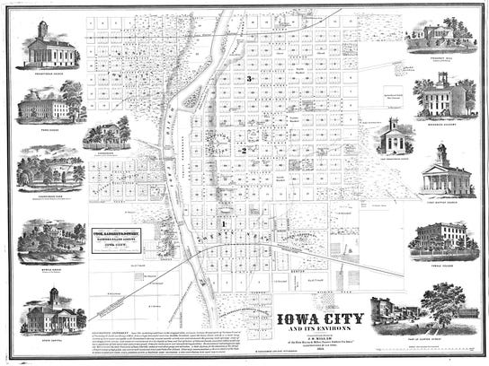 iowa city Map 1854.jpg