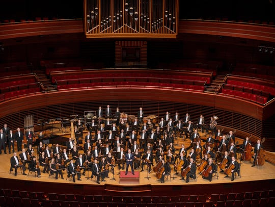 The Philadelphia Orchestra performs in Ann Arbor's