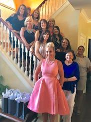 Bridal shower Barb Sanders-Overbeck hosted a bridal