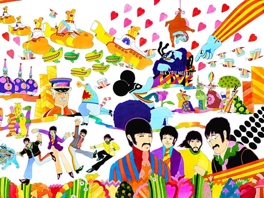 """""""Pepperland,"""" by Ron Campbell."""