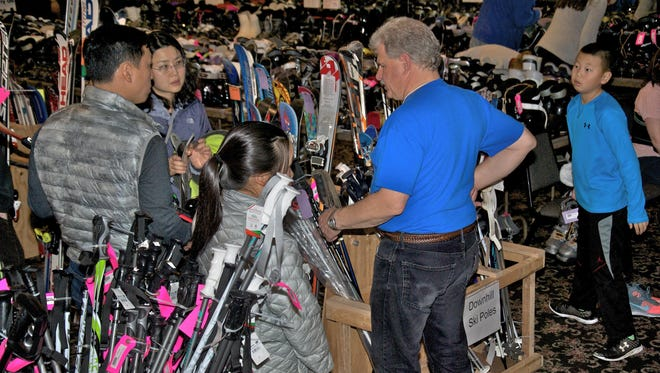 Triple Cities Ski Club hosts its 36th annual sale on Sunday in Endwell.