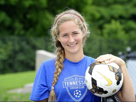 Korrie Sauder just graduated from Battle Ground Academy, where she was a standout soccer player. She will play soccer for Miami University in the fall.