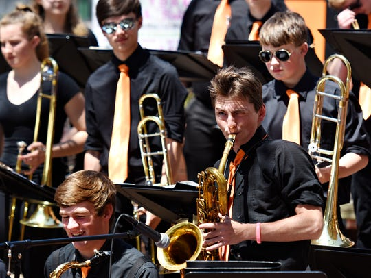 Central York Middle School and High School jazz bands