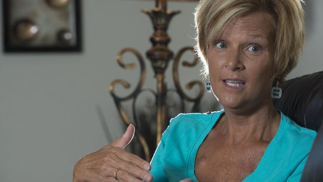 Pensacola resident CJ Pipkins describes the past 14 years of her life living with ovarian cancer. Pipkins found out she had ovarian cancer in 2001, and at that time was only given six months to live.