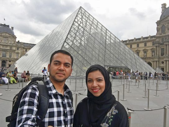 A vacation photo from Faisal and Nazia Ali, who were