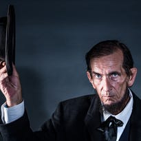 Making an honest living as Abe Lincoln look-alike