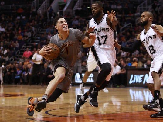 Suns vs. Spurs