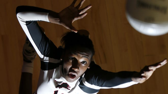 Leon's Makayla Washington, the All-Big Bend Volleyball Player of the Year.