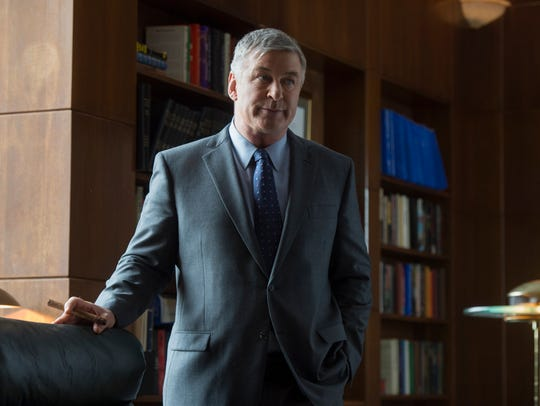 George Tenet (Alec Baldwin) on 'The Looming Tower.'