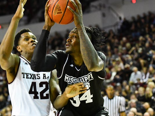 NCAA Basketball: Texas A&M at Mississippi State