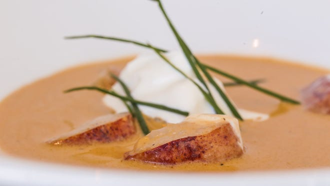Make your special someone some gluten-free Lobster Bisque for Valentine's Day.