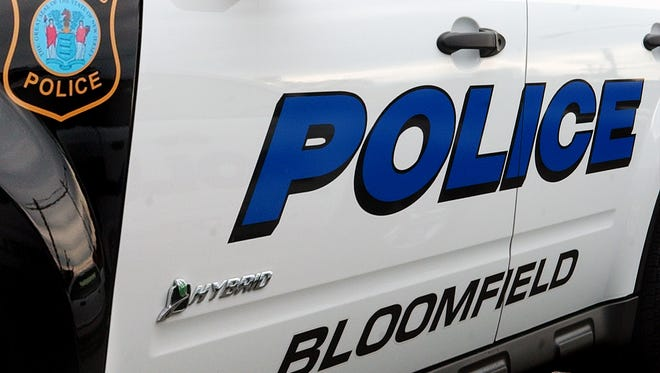 A Bloomfield police cruiser